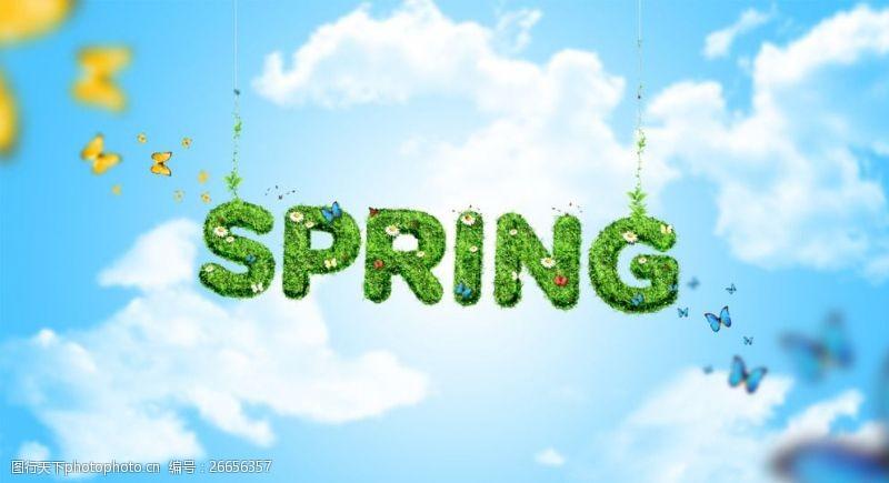 Spring春季活动海报