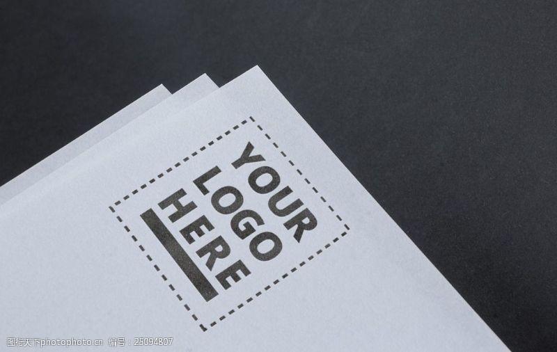 郵票logo樣機展示