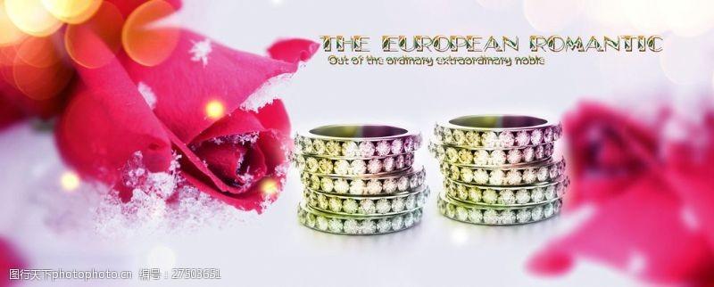 珠宝招贴画珠宝广告设计宣传