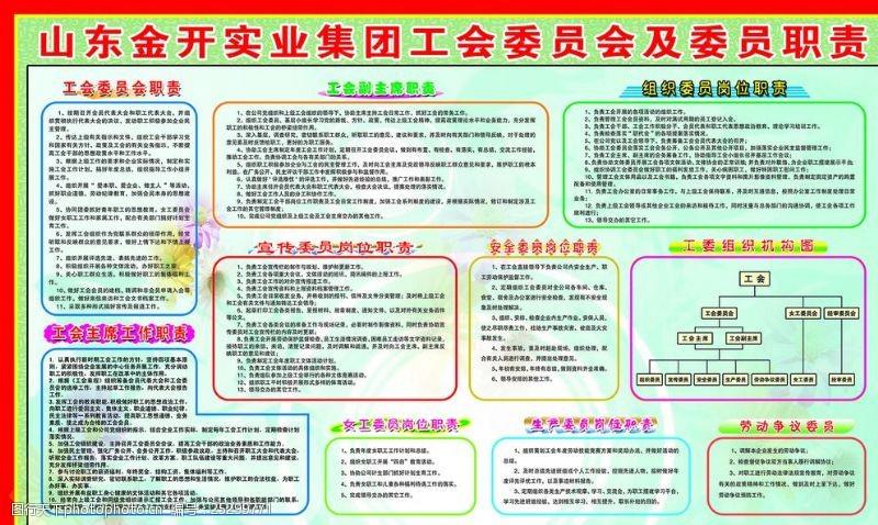 工会主席职责工会组织机构图