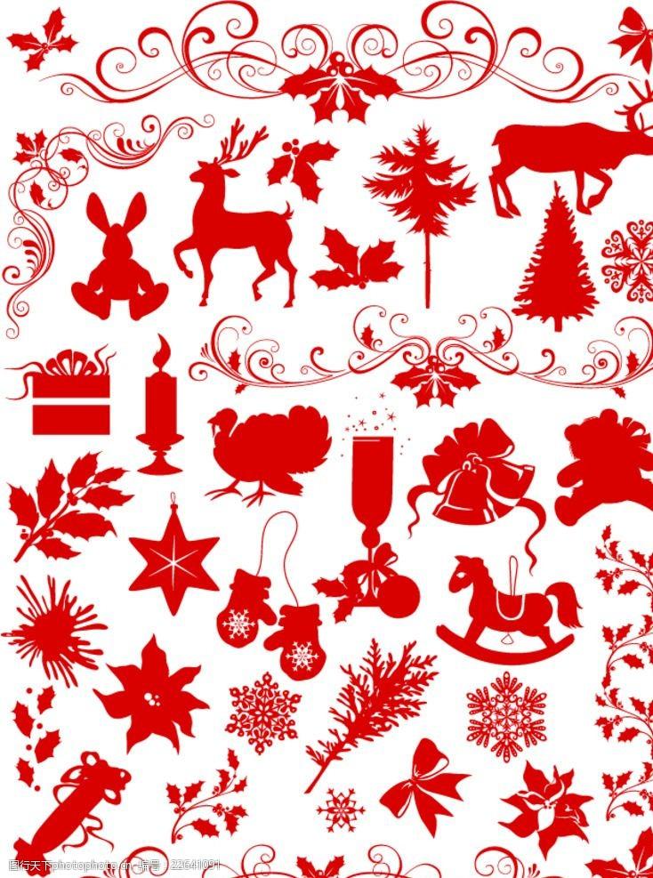 圣诞相关2圣诞相关剪影图标
