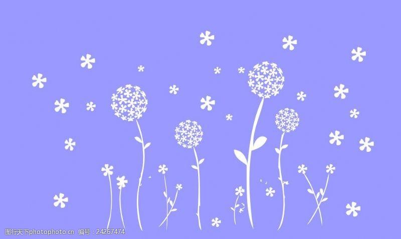 五叶草碎花