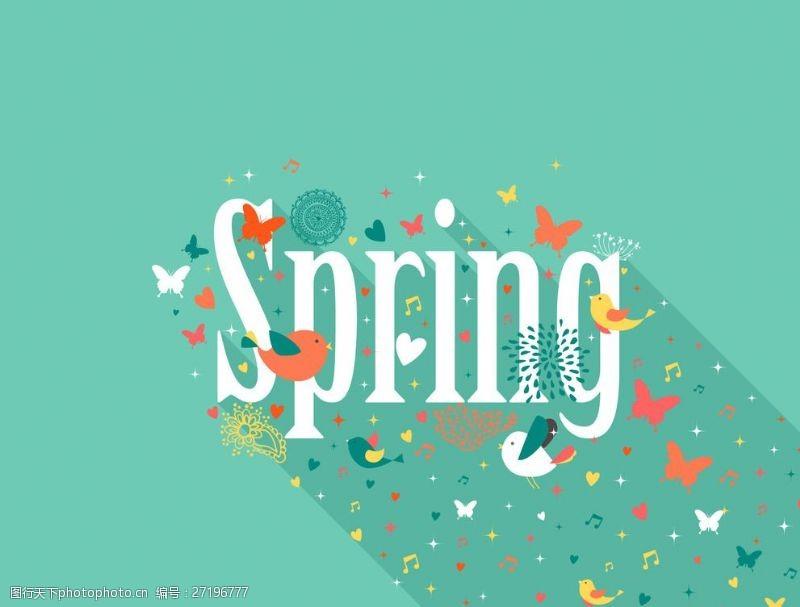 春意浓浓春季英文