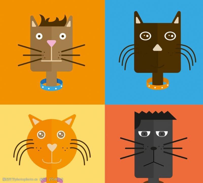 创意猫咪猫咪