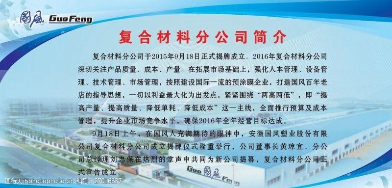 国风复合材料分公司简介(分层)