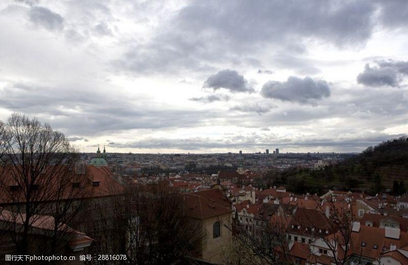 欧洲建筑群欧洲城市布拉格