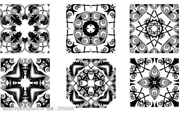 花卉邮票海报