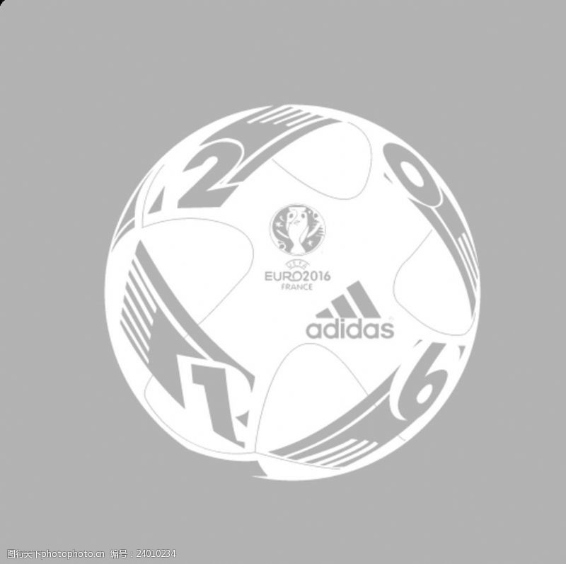 比赛用球2016法国欧洲杯法兰西之翼