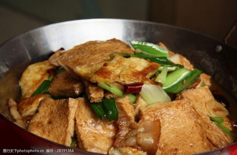 精品菜图干锅千页豆腐图片