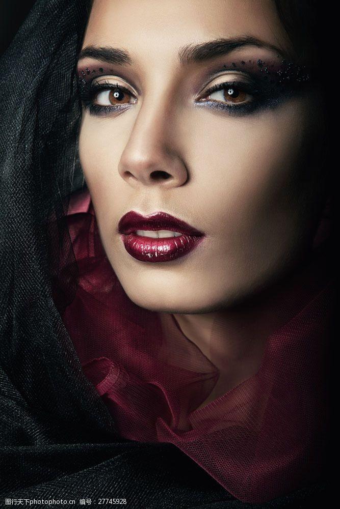 浓妆美女浓妆模特美女图片