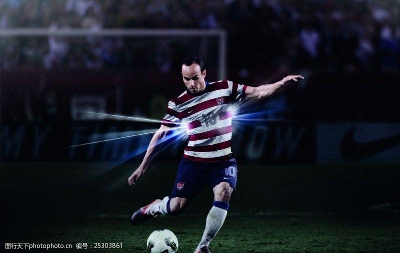 美国国家队足球国家队宣传广告图片