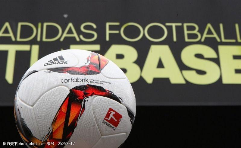 德甲联赛比赛用球图片