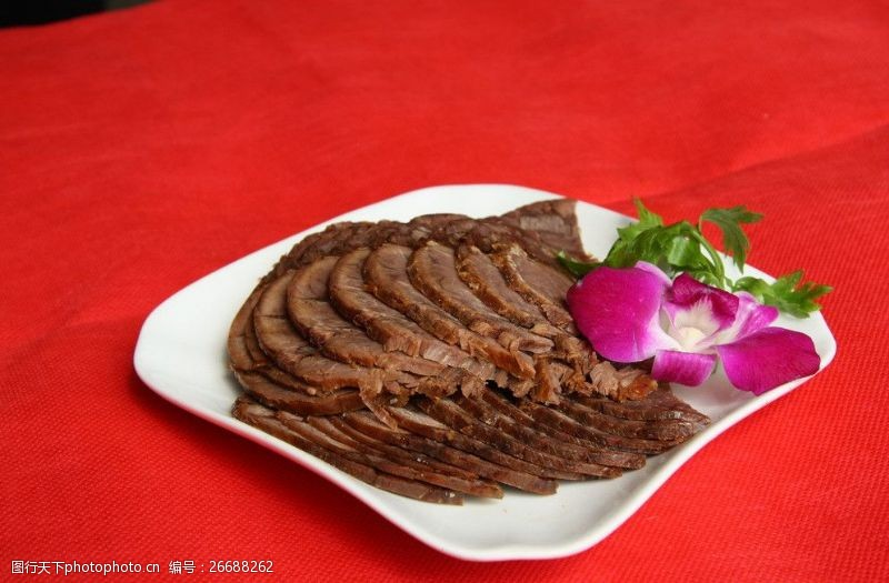 精品菜图酱香牛肉图片