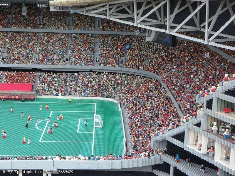 公平的竞争环境一个大型的球场