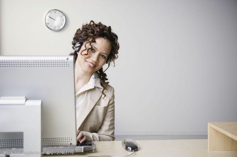 女秘书商务人士图片