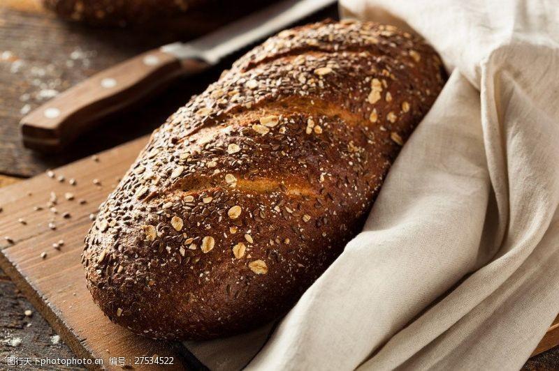 面包图片素材下载烤杂粮面包图片