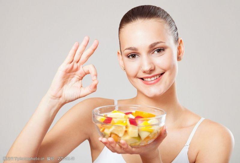 健身所减肥美女图片