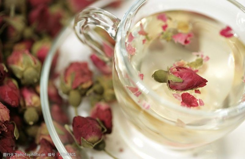 玫瑰花干花花茶