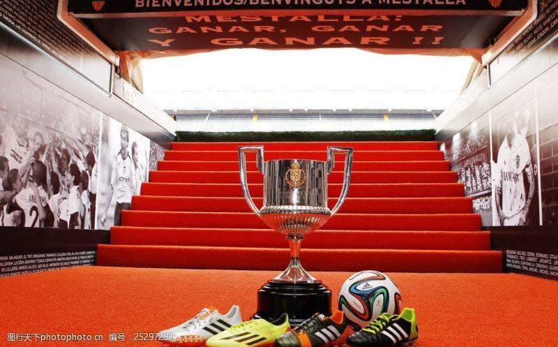 西班牙国王杯比赛用球图片