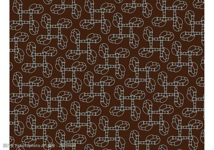 8管管抽象管图案背景矢量