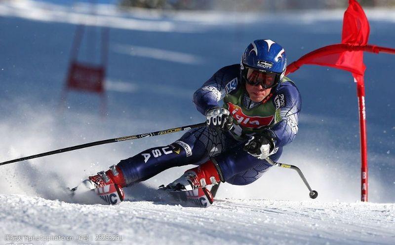 野外运动滑雪图片