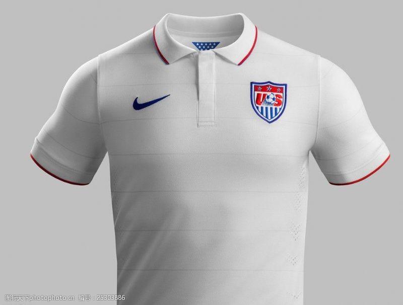 美国国家队队服广告图片
