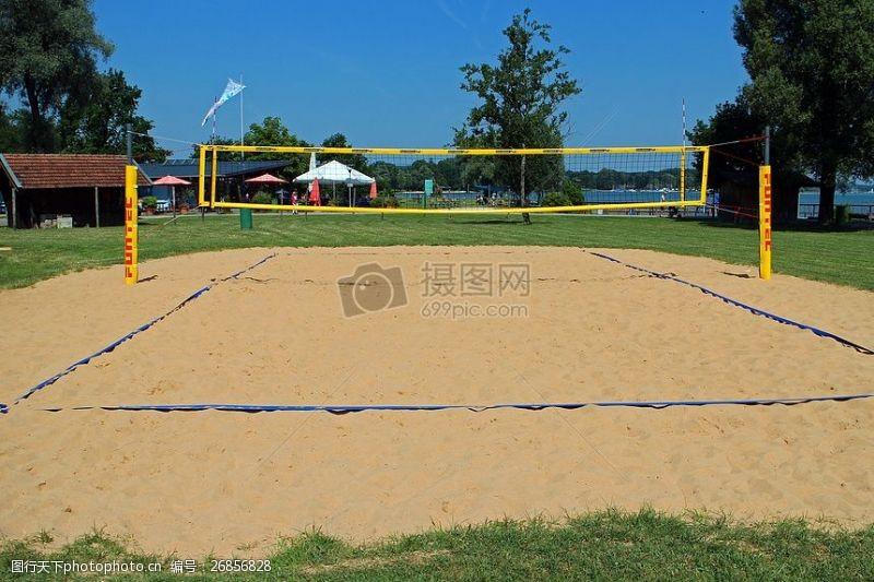 公平的竞争环境沙滩排球