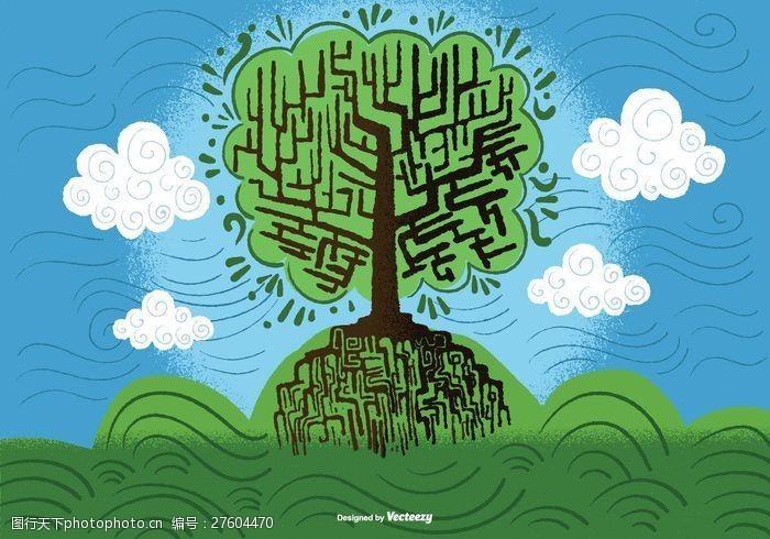 美环境智慧向量树