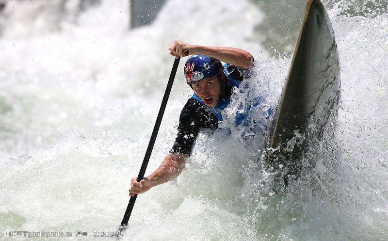 野外运动皮划艇运动图片