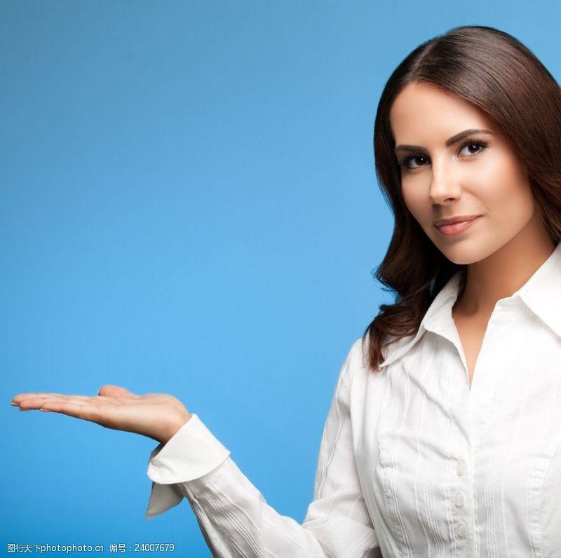 女秘书商务女白领
