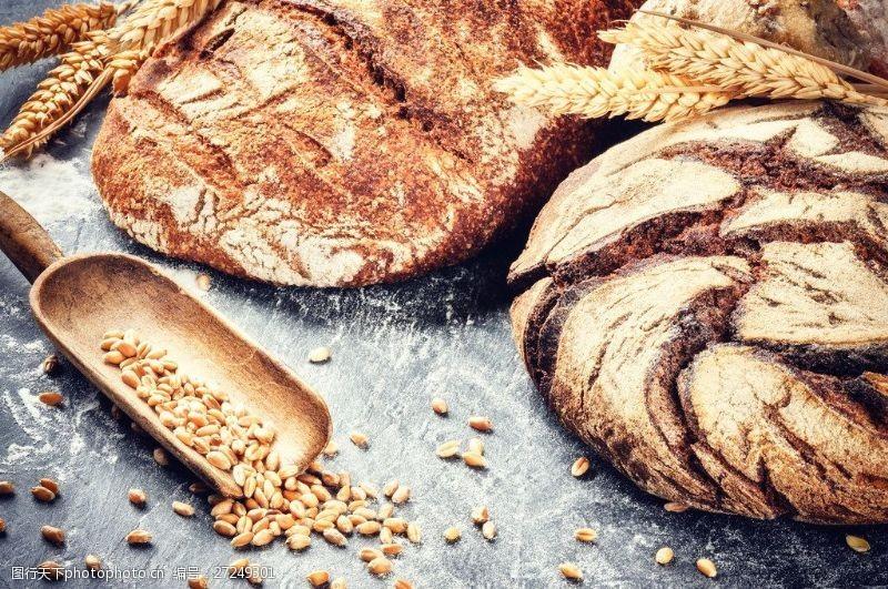 面包图片素材下载美味杂粮面包图片