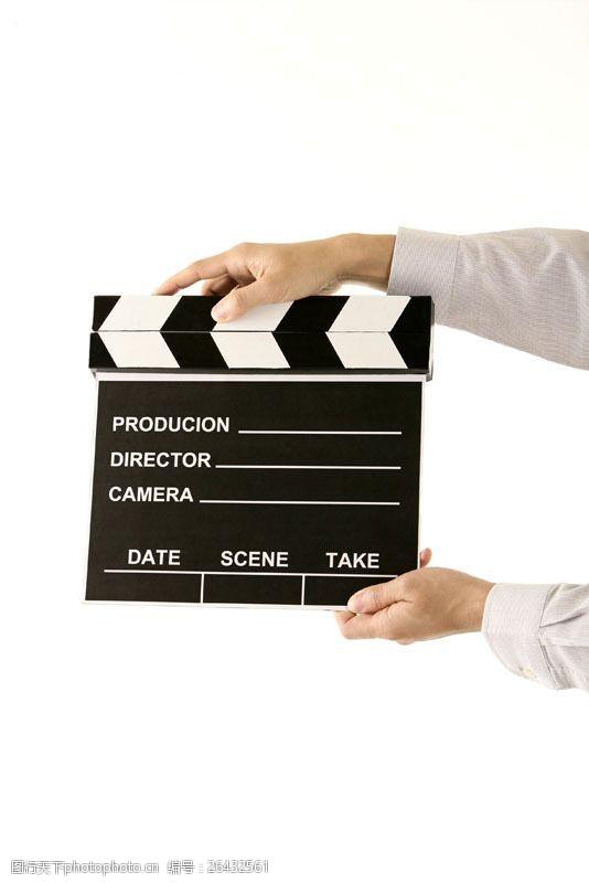 拍电影手势图片